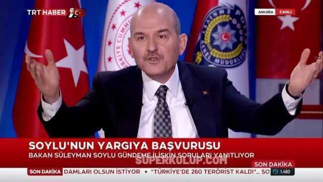 Sedat Peker'in iddiaları Süleyman Soylu'yu kızdırdı: Karısının iç çamaşırına sığınan edepsiz!
