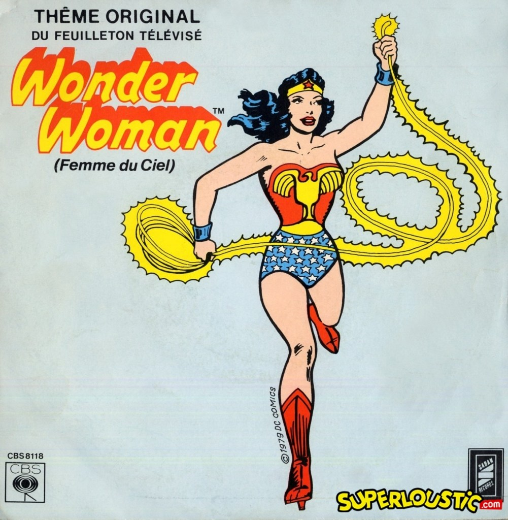 Eric Lang – Wonder Woman, femme du ciel