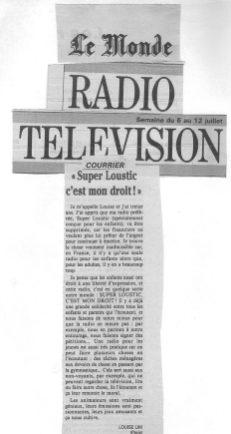 Le Monde - 6 juillet 1992