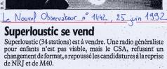 Le Nouvel Observateur - 25 juin 1992