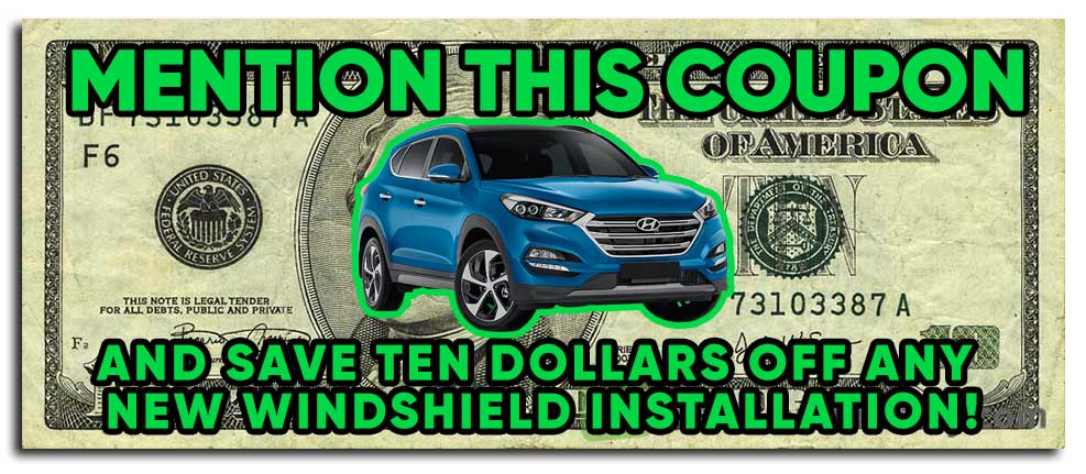 Windshield Repair Coupon Discount Auto Glass save 10 dollars Des Moines IA