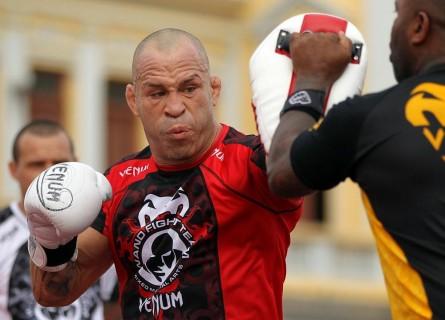 Wanderlei (foto) acredita que não será punido por comissão. Foto: Divulgação/UFC