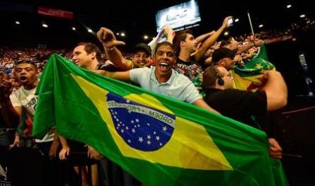 Torcida brasileira desembolsará menos por arquibancada no Rio do que em Brasília. Foto: Divulgação