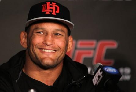 Treinador de jiu-jitsu, aposta em vitória de D.Henderson (foto) sobre Belfort. Foto: Josh Hedges/UFC