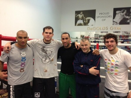 Roger Gracie campeao Boxe James DeGale