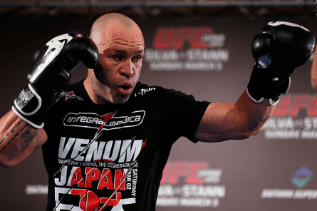 Com duas vitórias em suas últimas três lutas, W. Silva (foto) mira Sonnen. Foto: Josh Hedges/UFC
