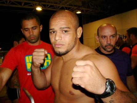 Iliarde Santos estreia no UFC contra Yuri Marajó. Foto: Jorge Ulisses/MMA Pará