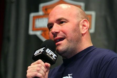 D. White (foto) se juntou aos irmãos Fertitta no Hall da Fama do Sul de Nevada. Foto: UFC/Divulgação