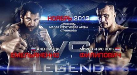 Nove anos depois, Cro Cop faz revanche contra Emelianenko