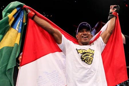 Marajó (foto) lutará em Brasília em setembro. Foto: Josh Hedges/Zuffa LLC