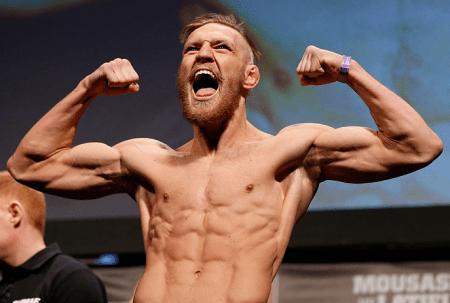 C. McGregor (foto) já chegou ao top 10 dos penas. Foto: Josh Hedges/UFC