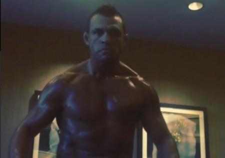 Vitor (foto) divulgou vídeo para intimidar Weidman. Foto: Reprodução/Instagram