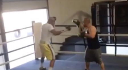 Anderson (esq.) já se prepara para enfrentar Diaz. Foto: Reprodução/Instagram