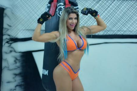 Ana Paula Minerato será ring girl do Jungle Fight. Foto: Divulgação