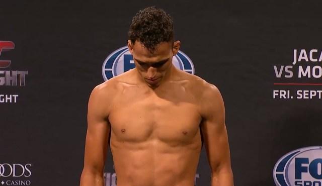 Do Bronx (foto) foi cortado do UFC FN 50. Foto: Reprodução/YouTube