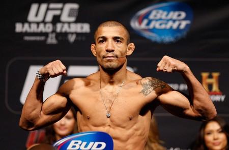 Aldo (foto) e demais atletas do UFC 179 enfrentam a balança nesta sexta-feira. Foto: Josh Hedges/Zuffa LLC