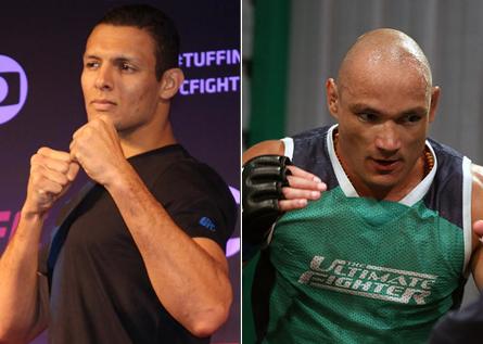 Lyoto e Miranda participarão do UFC em Barueri. Foto: Produção MMA Press (Lucas Carrano/Divulgação UFC)