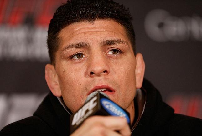 N. Diaz (foto) encara Spider em janeiro de 2015. Foto: Josh Hedges/UFC