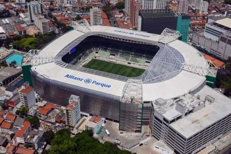 Nova casa do Palmeiras, o Allianz Park será inaugurado ainda em 2014. Foto: Divulgação