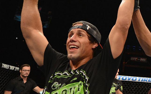 Faber (foto) derrotou Rivera de forma polêmica. Foto: Divulgação/UFC