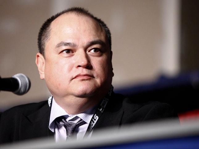 S. Coker (foto) é o CEO do Bellator. Foto: Divulgação