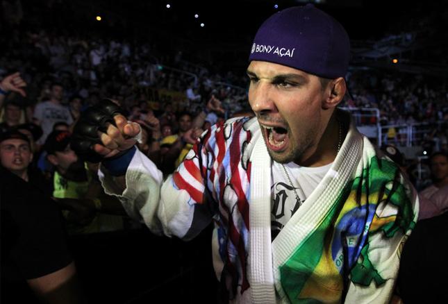 Schaub participou do histórico UFC Rio 1, mas foi nocauteado por Minotauro. Foto: Divulgação/UFC