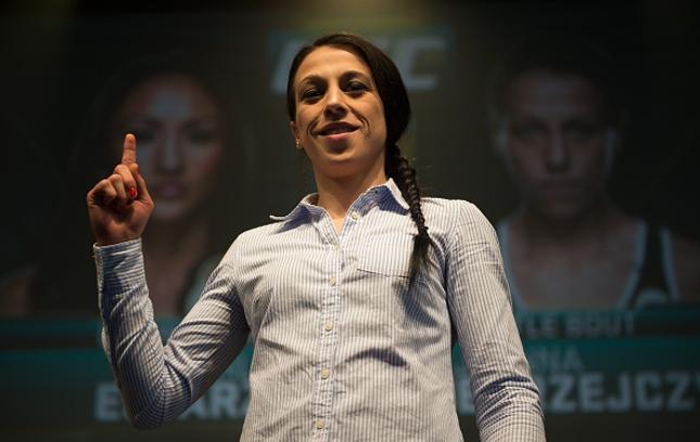 Joanna (foto) vem de vitórias sobre duas brasileiras: C. Gadelha e J. Lima. Foto: Brandon Magnus/UFC