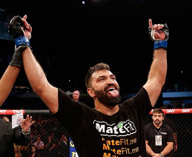 Arlovski (foto) bateu Mir no UFC 191. Foto: Josh Hedges/UFC
