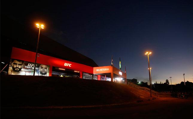 Apesar das boas lutas, evento do UFC em Goiânia deixou a desejar no público. Foto: Inovafoto