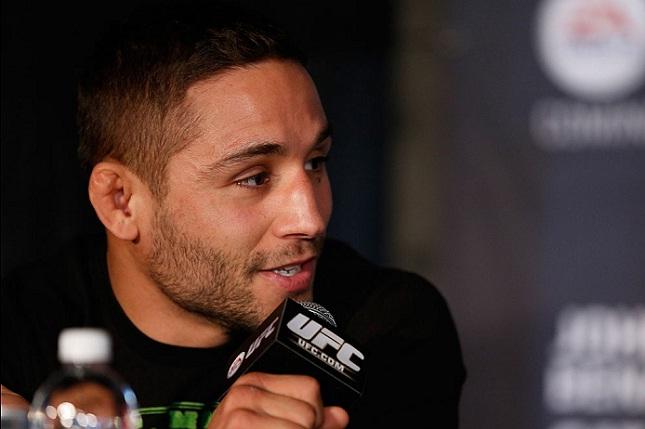 C. Mendes (foto) enfrentou Aldo duas vezes, e perdeu as duas. Foto: Josh Hedges/UFC
