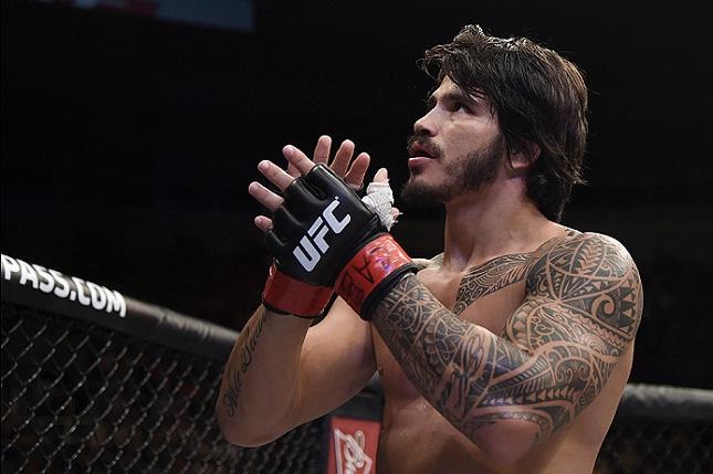 Após dois adiamentos, Erick(foto) finalmente enfrentará R. Story. Foto: Josh Hedges/UFC