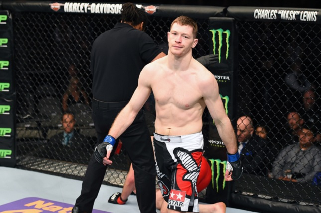 Sem McGregor, UFC Dublin terá Duffy (foto), último a derrotá-lo. Foto: Josh Hedges/UFC