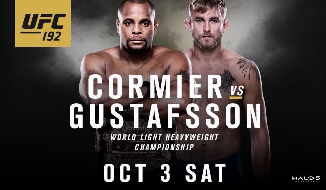 UFC 192 se enfrentarão em Houston, Texas (EUA). Foto: Divulgação