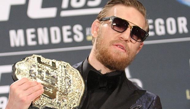 Conor (foto) é o campeão dos penas do UFC. Foto: Divulgação