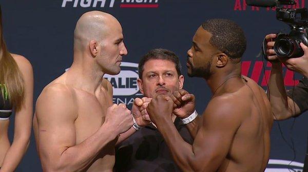 Glover e Rashad fazem luta principal em Tampa. Foto: Reprodução