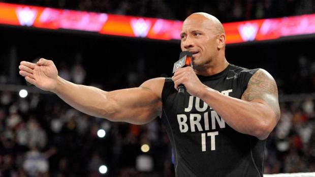 The Rock pensou em fazer carreira no MMA. Foto: Divulgação/WWE
