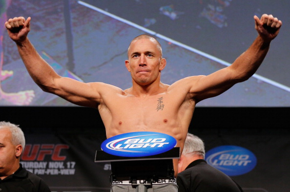 St-Pierre segue em disputa com o UFC. (Foto: Getty Images)