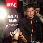 D. Maia (foto) enfrenta T. Woodley no UFC 214 (Foto: Reprodução/ Twitter/UFC)