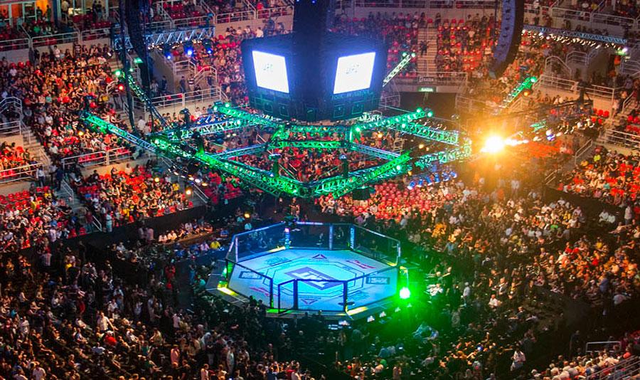 Siga as emoções do UFC 215. AO VIVO (Foto: Daniel Ramalho/Inovafoto/UFC)