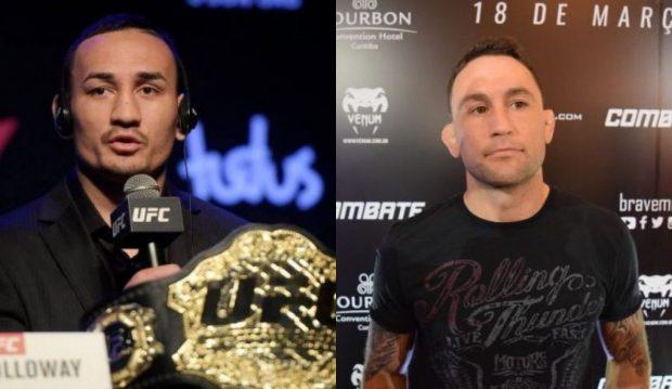 Holloway deve pegar Edgar (Foto: Reprodução/Facebook/UFC e Super Lutas)