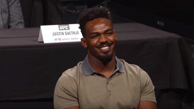 J. Jones é o numero um do meio-pesado (Foto: Reprodução/Youtube/UFC)