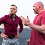 D. White (dir) pode virar parceiro de McGregor (esq) (Foto: Reprodução Instagram thenotoriousmma)