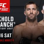 Duelo vai acontecer dia 16 de setembro (Foto: Divulgação/UFC)