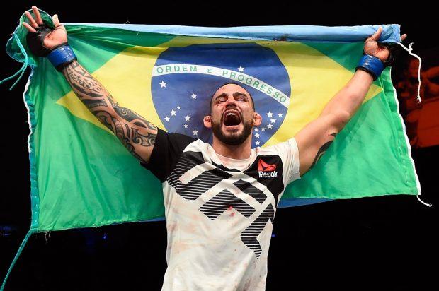 S. Ponzinibbio: quase brasileiro (Foto: Reprodução/Facebook/UFC)
