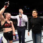 Valentina (esq) é favorita contra Amanda (dir) (Foto: Reprodução/Facebook UFC)