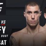 Duelo acontecerá dia 4 de novembro (Foto: Divulgação/UFC)