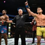 R. Dos Anjos (dir) é o quinto no meio-médio (Foto: Reprodução Facebook UFC)