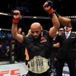 Johnson defendeu o cinturão pela 11ª seguida (Foto: Reprodução/Facebook UFC)