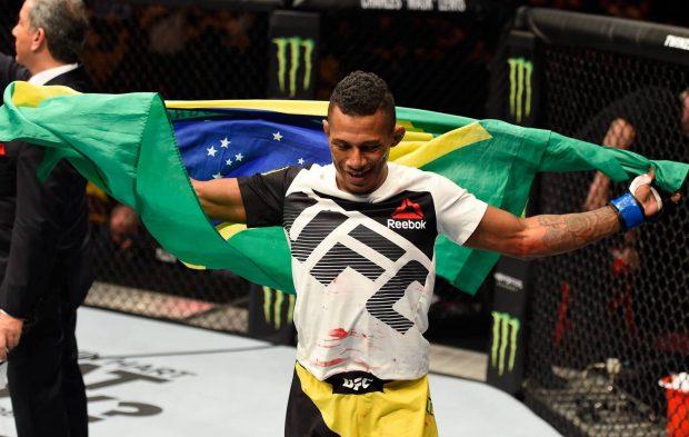 Marajó vai lutar em dezembro (Foto: Reprodução/Facebook UFC)