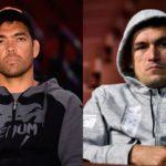 Lyoto e Demian são azarões no UFC SP (Foto:Reprodução/Facebook/Montagem: SL)